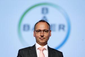Bayer Vorstandsvorsitzender Werner Baumann