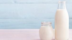 milk in a bottle